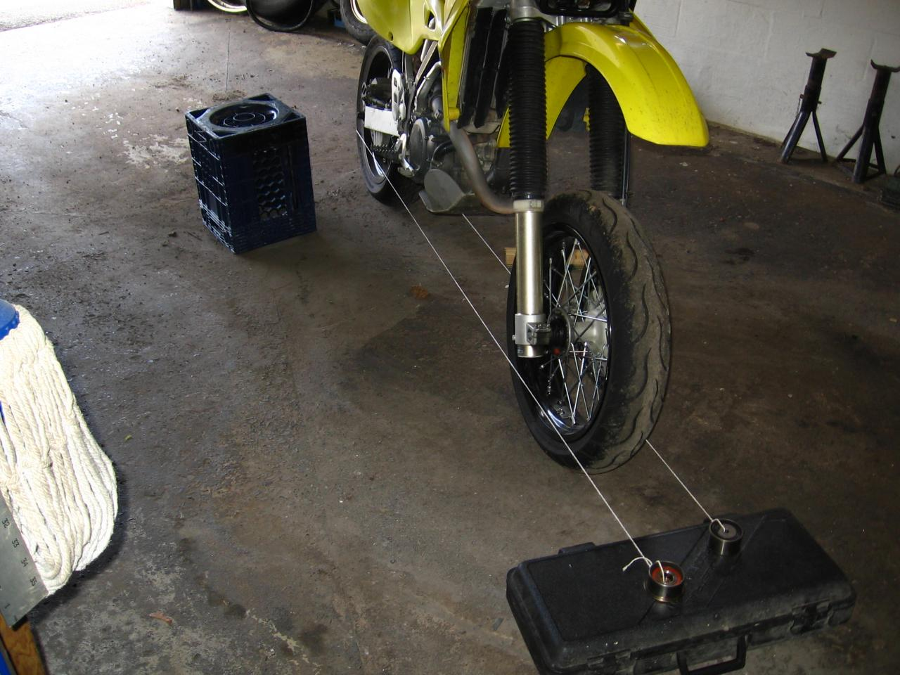 Motorcycle Wheel Alignment | PegMonkey